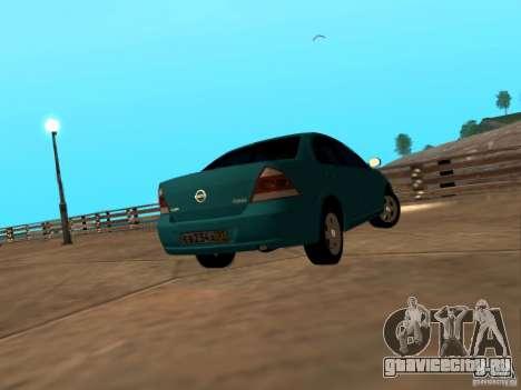 Nissan Almera Classic для GTA San Andreas вид сзади