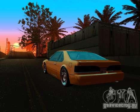 Khord ThunderWing для GTA San Andreas вид сзади