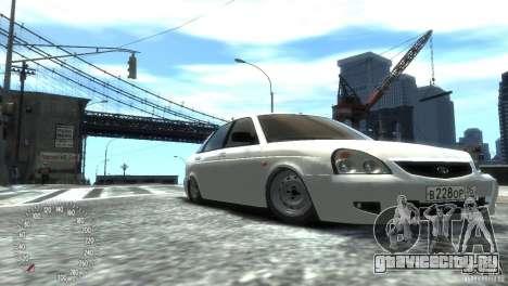 ВАЗ 2172 Pitbull для GTA 4 вид справа