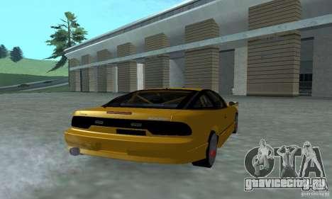 Nissan 200SX Turbo для GTA San Andreas вид слева