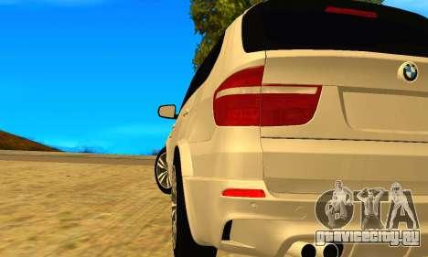 BMW X5M 2013 v2.0 для GTA San Andreas вид слева