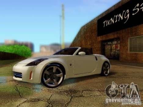 Nissan 350Z Cabrio для GTA San Andreas
