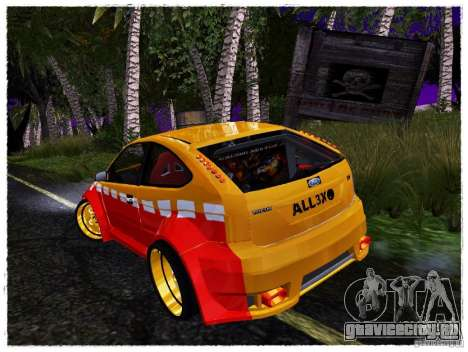 Ford Focus ST Calibri-Ace для GTA San Andreas вид справа