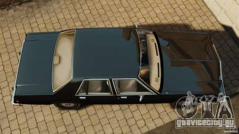 Ford LTD Crown Victoria 1987 для GTA 4 вид справа