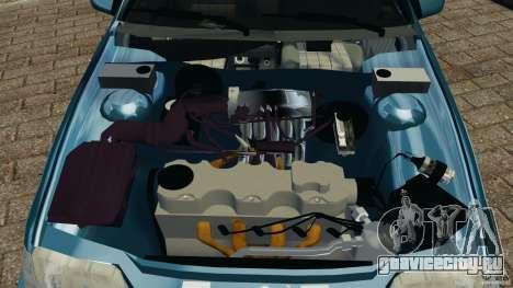 Chevrolet Kadett GSI для GTA 4 вид сверху