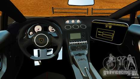 Lamborghini Gallardo LP570-4 Superleggera 2011 для GTA 4 вид сзади