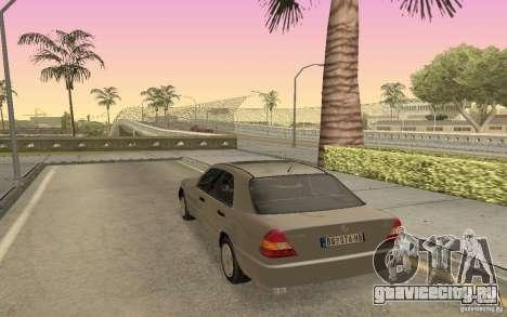 Mercedes Benz C220 для GTA San Andreas вид слева