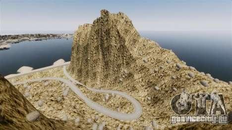 Горная вершина для GTA 4 второй скриншот