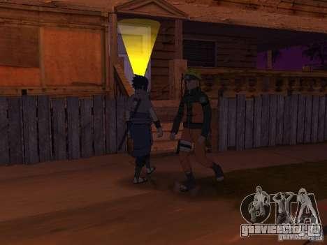 Skin Pack From Naruto для GTA San Andreas седьмой скриншот