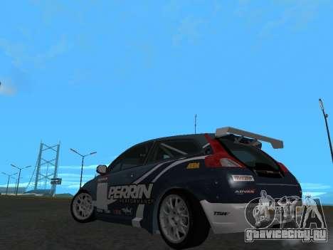 Volvo C30 Race для GTA San Andreas вид сзади слева