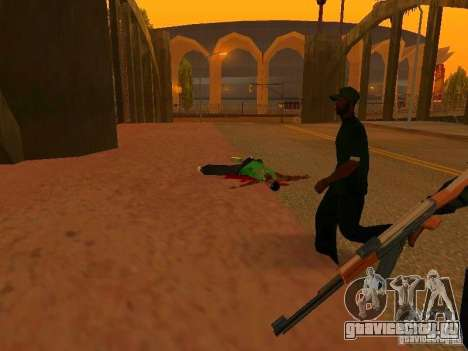 Grove Street Forever для GTA San Andreas третий скриншот