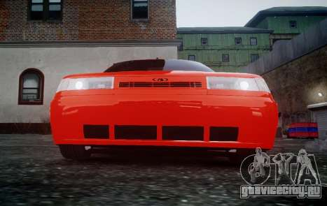 ВАЗ 2110 для GTA 4 вид сзади слева