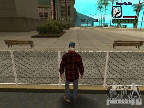 Скин бомжа в пиджаке для GTA San Andreas четвёртый скриншот