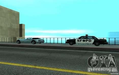 Police на мосту Сан-Фиерро для GTA San Andreas