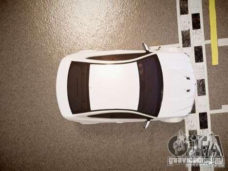 Mercedes-Benz C63 AMG Stock Wheel v1.1 для GTA 4 вид сзади
