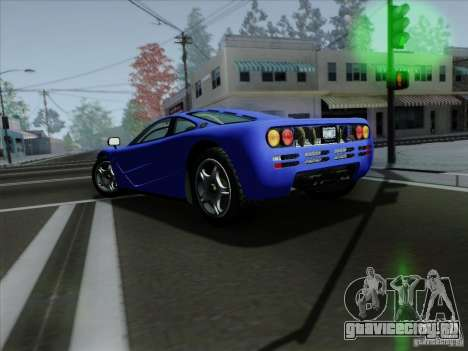 McLaren F1 1994 v1.0.0 для GTA San Andreas