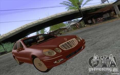 Mercedes-Benz E320 для GTA San Andreas вид слева