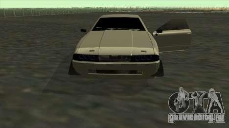 Elegy Roportuance для GTA San Andreas вид сверху