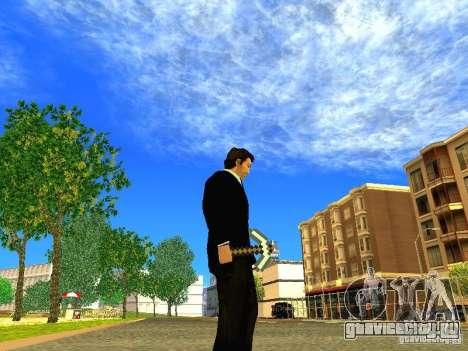 Кирка из игры Minecraft для GTA San Andreas четвёртый скриншот