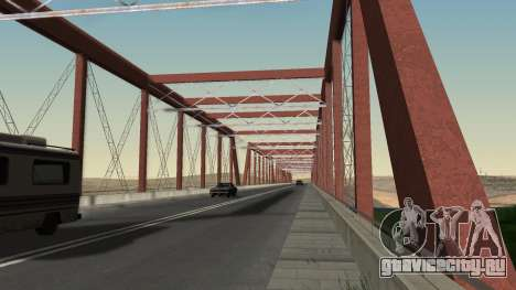 Новый мост LS-LV для GTA San Andreas четвёртый скриншот