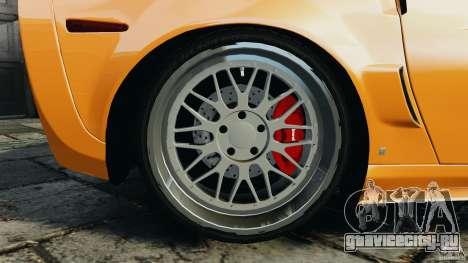 Chevrolet Corvette ZR1 для GTA 4 колёса