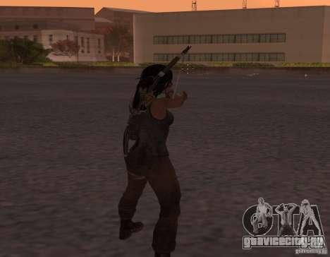 Skin Tomb Raider 2013 для GTA San Andreas