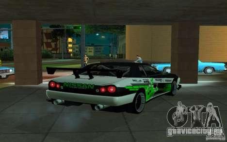 Elegy by PiT_buLL для GTA San Andreas вид сзади слева