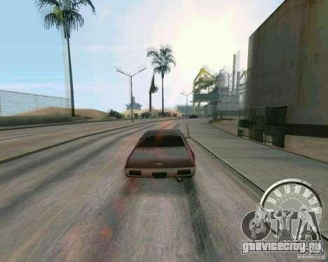 Классический спидометр Mustang для GTA San Andreas