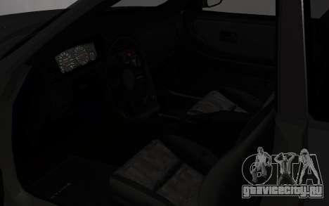 Nissan Skyline GTS25T (R33) для GTA San Andreas вид сзади
