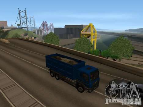 MAN TGA 28 430 PALIFT для GTA San Andreas вид сзади