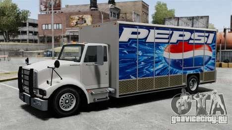 Новая реклама для грузовика Benson для GTA 4 третий скриншот
