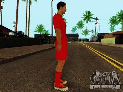 Криштиану Роналду v4 для GTA San Andreas второй скриншот