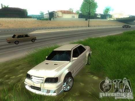 Mercedes-Benz W124 BRABUS для GTA San Andreas