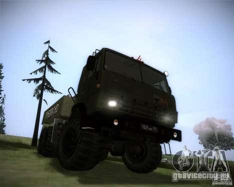 КамАЗ-4310 Топливозаправщик для GTA San Andreas вид справа