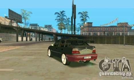 Daewoo Nexia Tuning для GTA San Andreas вид сзади слева