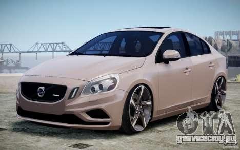 Volvo S60 R-Design 2011 для GTA 4 вид изнутри
