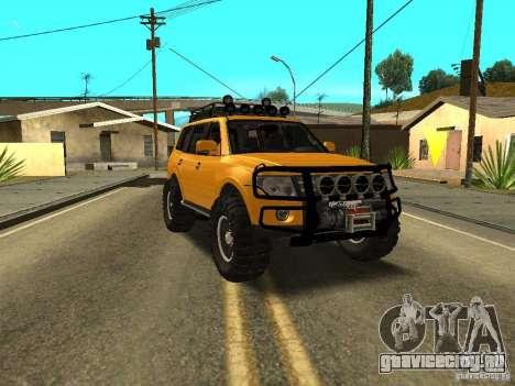 Mitsubishi Pajero OffRoad v2 для GTA San Andreas
