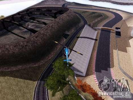 Laguna Seca Raceway для GTA San Andreas четвёртый скриншот