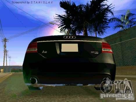 Audi A6 для GTA San Andreas вид сбоку