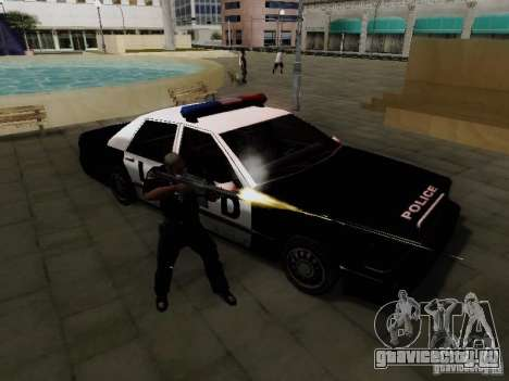 Elegant Police LS для GTA San Andreas вид справа