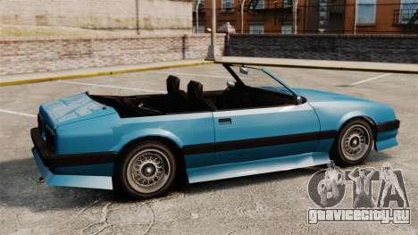 Uranus кабриолет для GTA 4 вид слева
