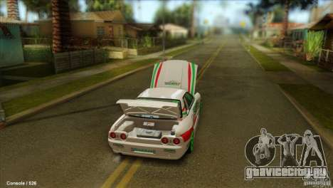 Nissan Skyline GT-R32 BadAss для GTA San Andreas вид слева
