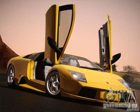 Lamborghini Murcielago 2002 v 1.0 для GTA San Andreas вид сверху