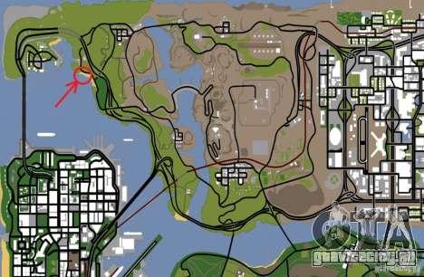 Beach House для GTA San Andreas седьмой скриншот