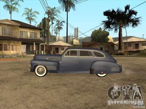 Cadillac 61 1941 для GTA San Andreas вид сзади слева