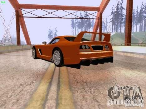 Dodge Viper GTS-R Concept для GTA San Andreas вид справа