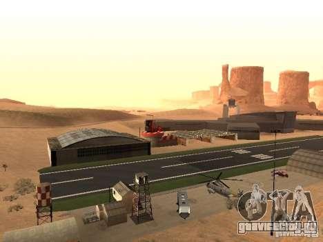 Новый Аэропорт для GTA San Andreas второй скриншот