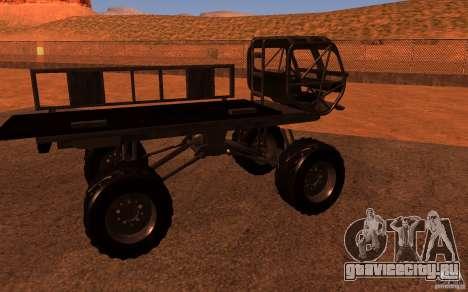 Heist Truck для GTA San Andreas вид справа