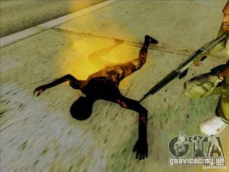 Обгоревшие тела для GTA San Andreas