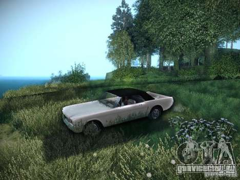 Ford Mustang Convertible 1964 для GTA San Andreas вид справа
